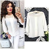 Блузка женская, модель 793, цвет белый