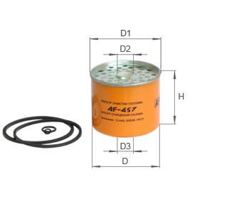 Фильтр топливный Alpha Filter AF402 (РS 822)