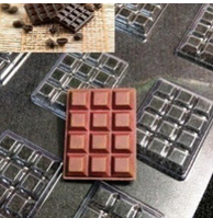 молд для моделирования шоколада плитка шоколада маленькая шоколадка плитка12 шт