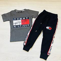 Костюм спортивный брюки и футболка  для мальчика (3-12 лет)