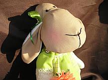 """Мягкая игрушка, овечка """"Дуня"""", ручной работы., фото 2"""