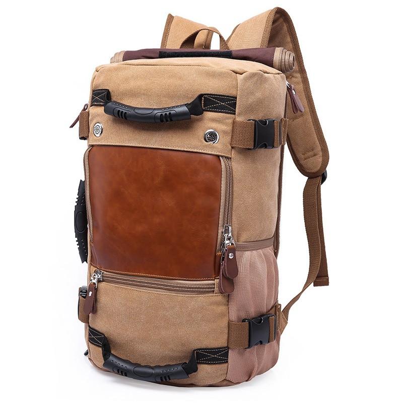 Стильный туристический рюкзак-сумка Kaka 0208, для города и путешествий, 40л