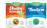 Антиколорад МАКС в.р.к. + Тандем - инсектицид, Ukravit - 2 мл + 10 мл