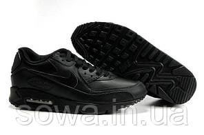 "✔️ Кроссовки Nike Air Max 90 Leather ""Black""  , фото 2"