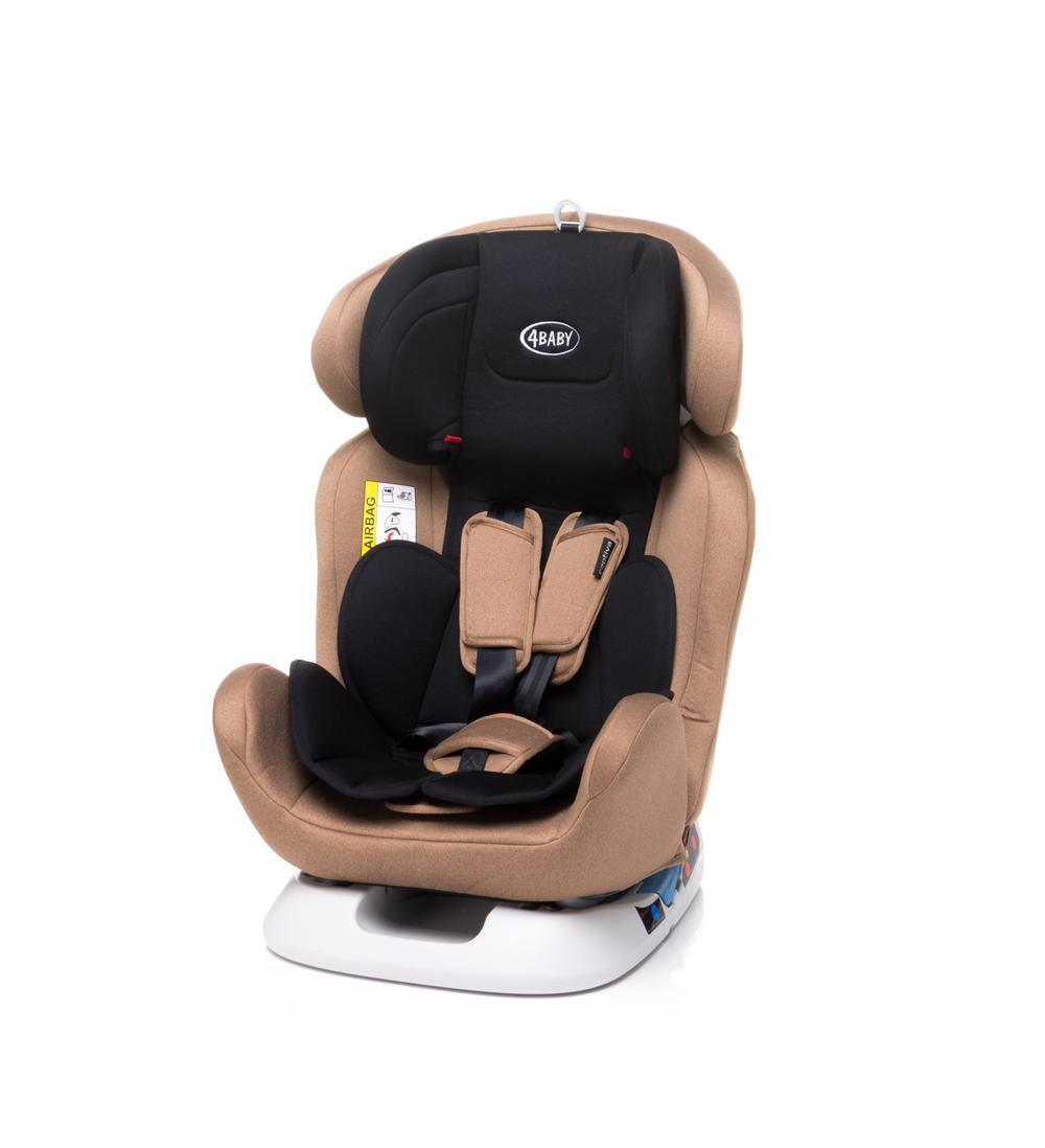 Большое комфортное детское автокресло для мальчика 4baby Captiva 0-1-2-3 ( 0-36 кг )
