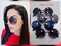 Очки женские солнцезащитные очки круглые  VERSACE