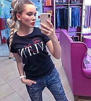 Женская футболка Валентино Разные цвета, фото 1
