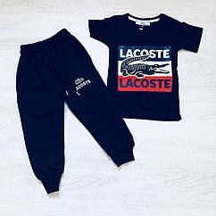 Костюм спортивный брюки и футболка  для мальчика 116рост