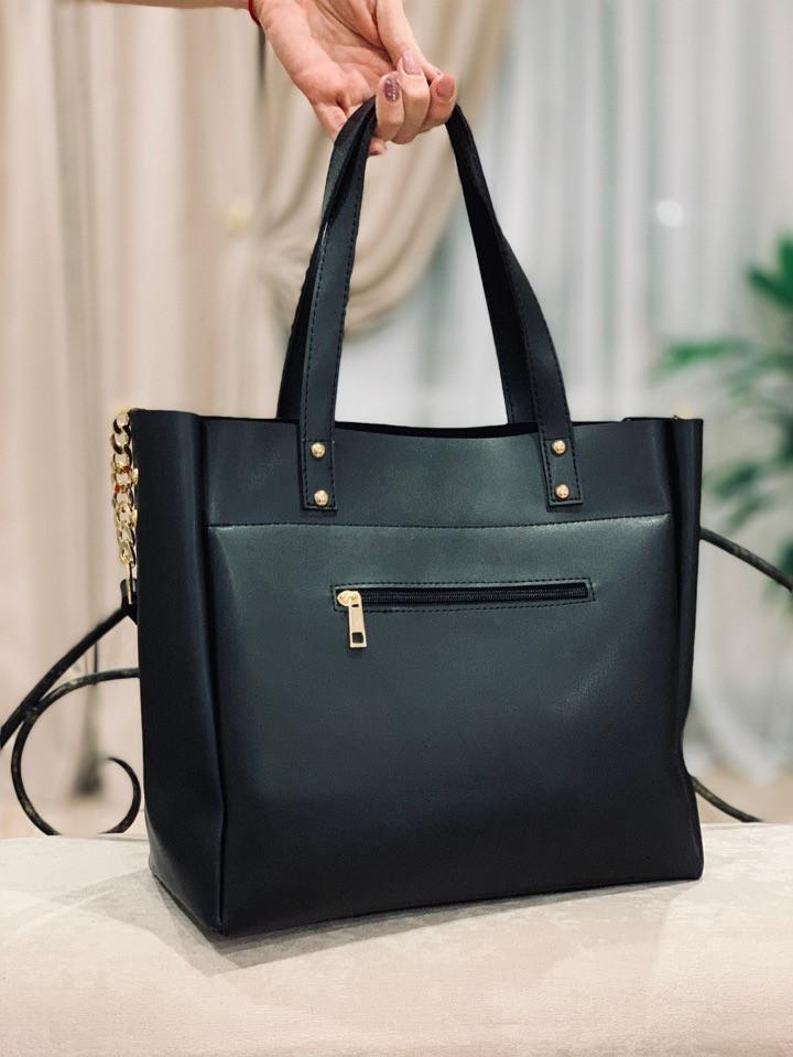 b9fcc8031d75 Стильная вместительная сумка Майкл Корс. Черный , цена 515 грн., купить в  Днепре — Prom.ua (ID#937611244)