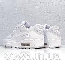 "✔️ Кроссовки Nike Air Max 90 ""Premium White/Metallic Silver""  , фото 3"