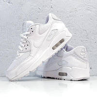 "✔️ Кроссовки Nike Air Max 90 ""Premium White/Metallic Silver"""