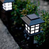 """Газонный светильник на солнечной батарее """"Домик"""" CAB121, фото 1"""