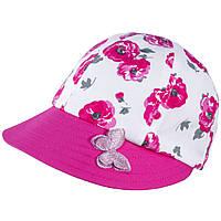 Бейсболка для девочки TuTu 92 арт. 3-004497(48-52, 52-56) UV+30, фото 1