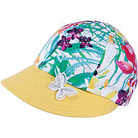 Бейсболка для девочки TuTu 92 арт. 3-004497(48-52, 52-56) UV+30 52-56, Желтый