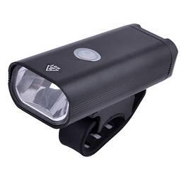 Фонарь велосипедный WT-516-XPE, аккум, алюмин, microUSB, подсветка