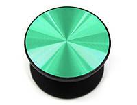 Попсокет Popsocket держатель Unipha Metall зеленый, фото 1