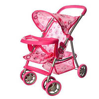 Кукольная коляска 9304 BWT/ 025 MELOGO