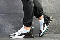 Мужские кроссовки Nike Air Max 270, артикул 7632 белые с мятой, фото 1