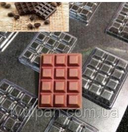 молд для моделирования шоколада плитка шоколада маленькая шоколадка 3 шт