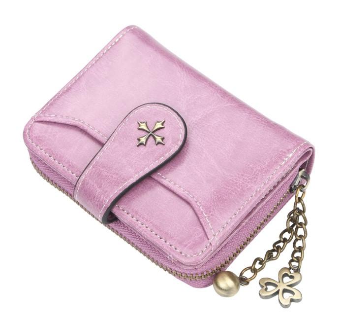 Жіночий гаманець BAELLERRY Fashion Short клатч Фіолетовий (SUN3875)
