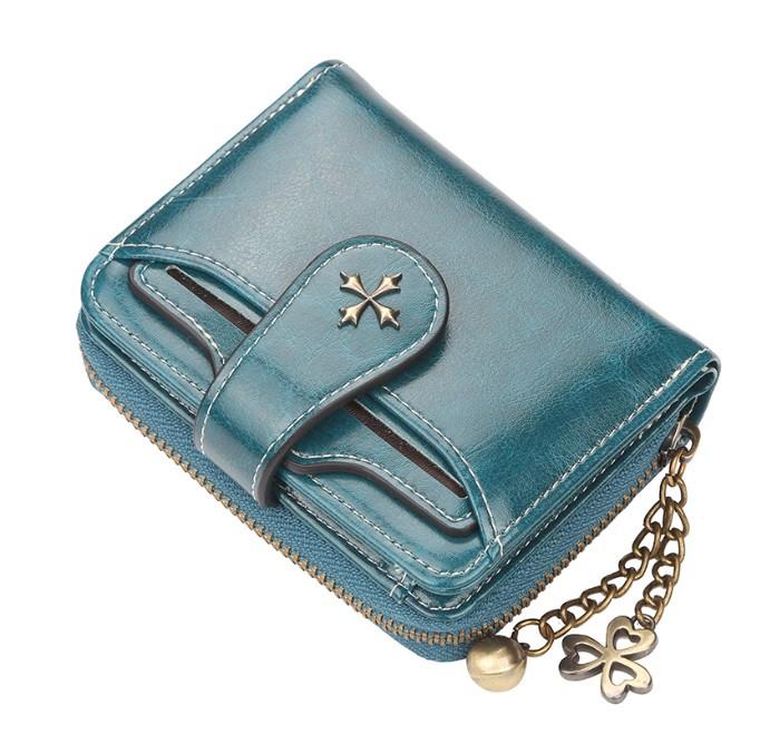 Жіночий гаманець BAELLERRY Fashion Short клатч Синій (SUN3876)