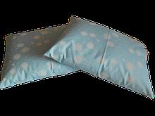 Подушка из гречневой шелухи 30х40см 100% хлопок