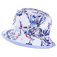Панамка для девочки TuTu 93 арт. 3-004496 ( 48-50, 52-54)  UV+30 52-54, Голубой