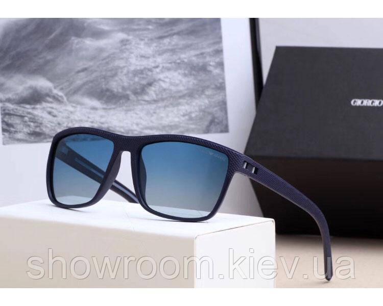 Мужские солнцезащитные очки в стиле Armani (0993) blue