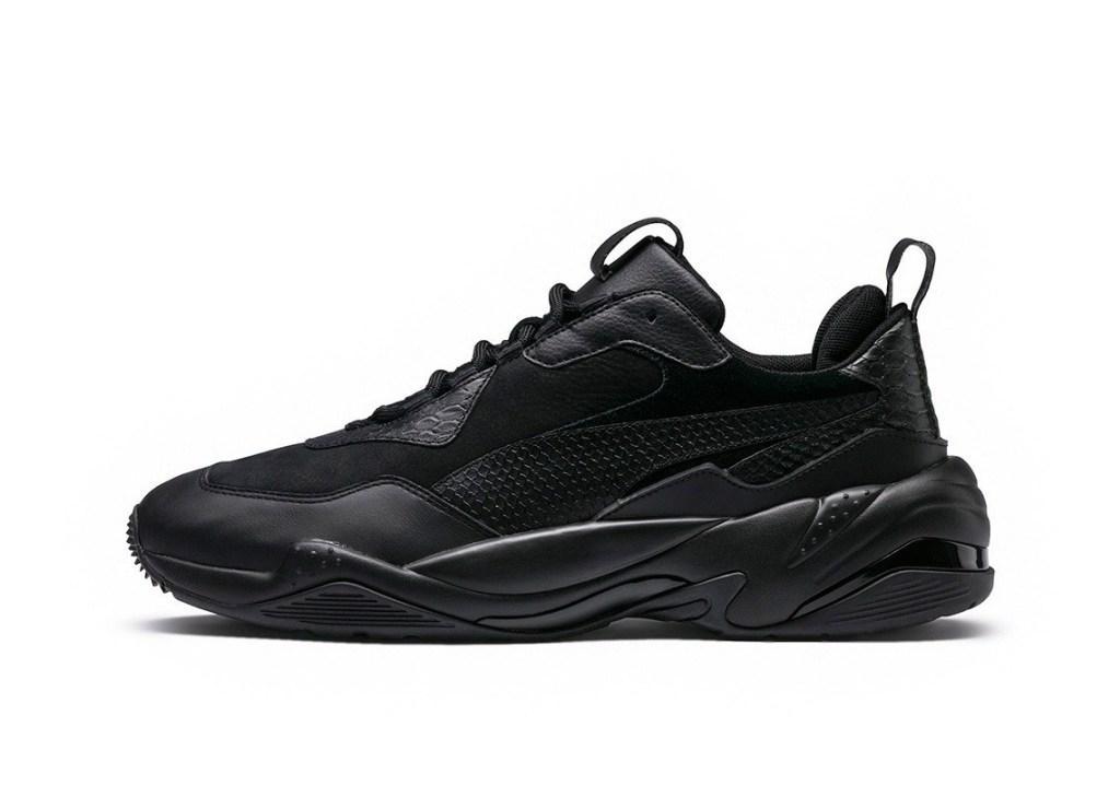 Кроссовки Puma Desert Thunder Triple Black черные