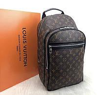 Ручная кладь Рюкзак LV Louis Vuitton(реплика Луи Витон) Brown