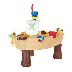 Игровой столик - Пиратский корабль для игры с водой Little Tikes Outdoor 628566E3