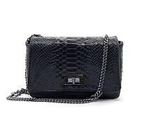 Женская сумка кроссбоди Vera Pelle (14432) кожаная черная, фото 1