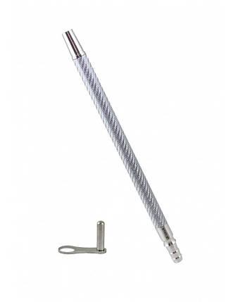 Мундштук Карбоновий Smokah Carbon S срібло, фото 2