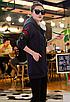 Женская толстовка с капюшоном вышивкой Синий 44 46, фото 4