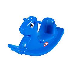 Качалка - Веселая лошадка Little Tikes США синяя 427900072 + Бесплатная доставка