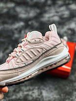 "✔️ Кроссовки Nike Air Max 98 ""Rose/Grey"", фото 2"