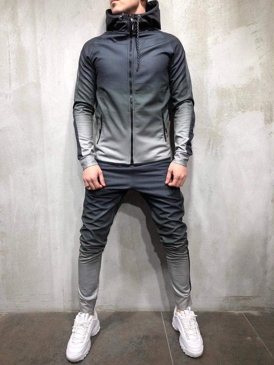 77ec2b63 Мужской спортивный костюм   Костюм спортивний   Стильный (Серый) -  Shopi_Luxury в Виннице