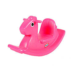 Качалка - Веселая лошадка розовая Little Tikes Outdoor 403C00060