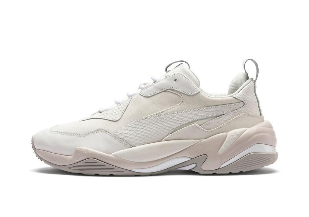 Кроссовки Puma Desert Thunder White Violet белые