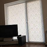 Рулонные шторы Барокко белый, фото 7