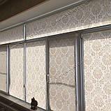 Рулонные шторы Барокко белый, фото 8