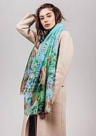 Женский шарф мягкой цветовой гаммы