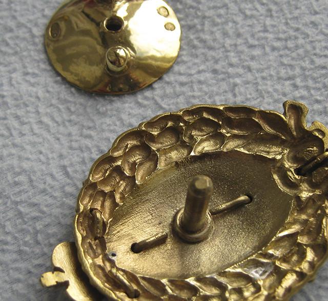 Знак для окончивших Демидовский лицей в Ярославле 2 й тип, Копия, полковые знаки царской россии