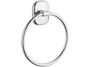 Держатель для полотенец кольцо хром REMER SU44
