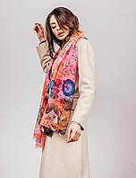 Женский шарф из шелка с вискозой