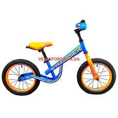 Детский беговел Crosser Balance bike 12 дюймов синий