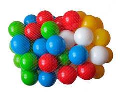 """Разноцветные шарики в сухой бассейн """"80 мм"""" (60 шт)  sco"""