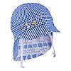 Панама для мальчика двухсторонняя TuTu 100 арт. 3-004508(48-50) UV+50. 48-50, Синий