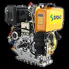 Двигун дизельний SADKO DE 420Е (10,0 л. с.), фото 3