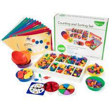 Большой набор для сортировки Супер Сет EDX Education  - 700 элементов